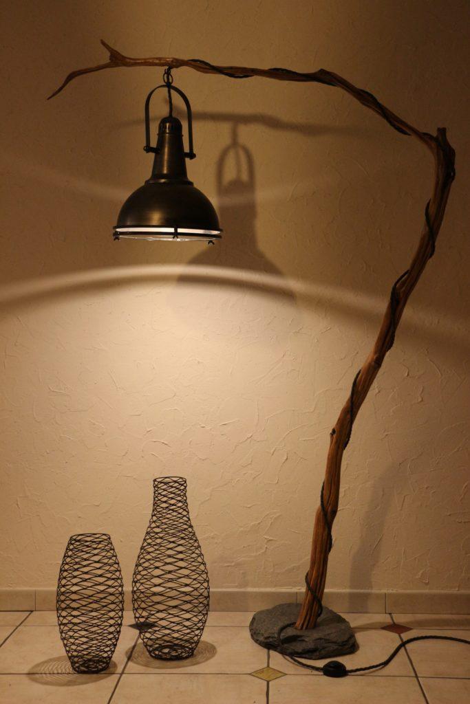 lampe en bois Filabois Projecteur