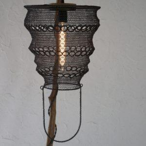 lampe en bois têtemba filabois