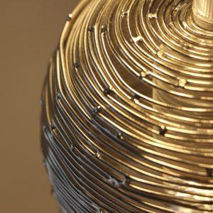 lampe en bois argent filabois