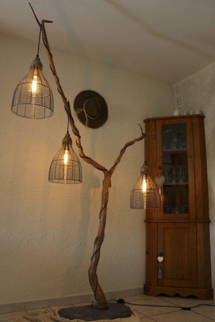 lampe en bois triptyque filabois