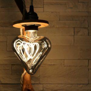 lampe filabois coeur