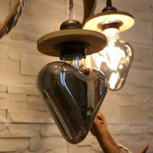 lampe en bois artisanale filabois
