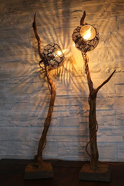 lampe en bois filabois