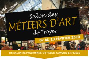 Salon des Métiers d'Art de Troyes @ Le Cube-Troyes Champagne Expo
