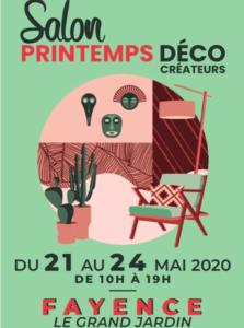 Salon Printemps Déco Créateurs - Fayence @ Le Grand Jardin